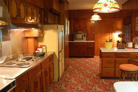 Elvis Presley's Kitchen, Graceland Mansion In Memphis