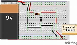 Wiring A Zener Diode As A Voltage Regulator