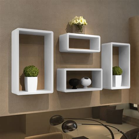 etagere chambre 4 retro wall cubes floating shelves stand storage display