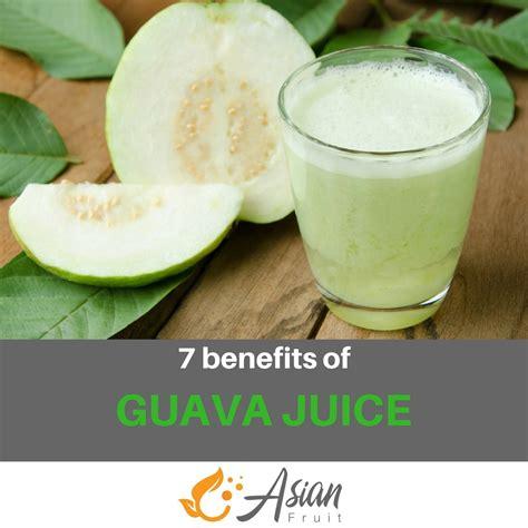 guava juice benefits fruit common