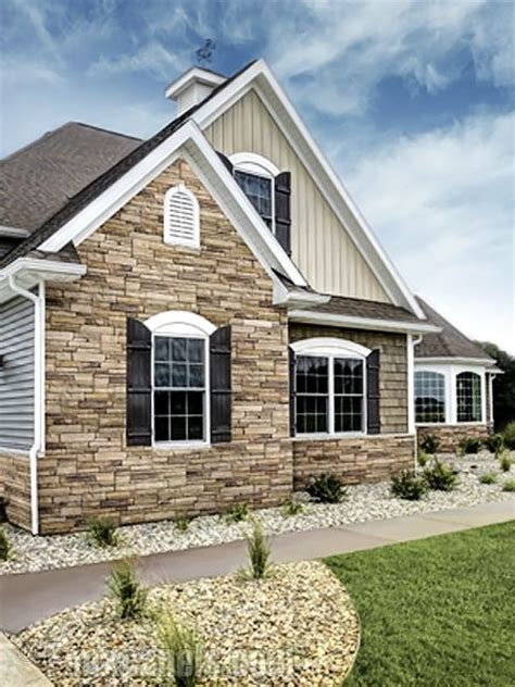Ledgestone Plum Creek Versette Home Design Pictures