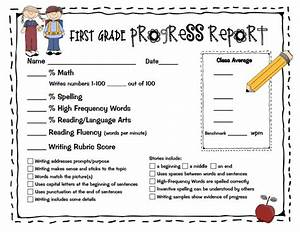 14 best images about progress reports on pinterest math With first grade progress report template