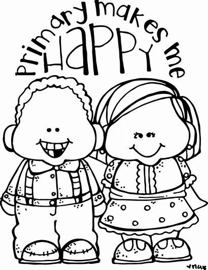 Lds Coloring Pages Nursery Primary Melonheadz Clipart
