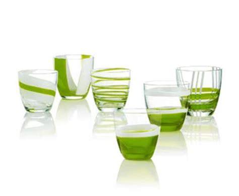 guzzini bicchieri set 6 bicchieri acqua table verdi