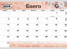 Modelos De Calendarios 2016 Para Imprimir Calendar