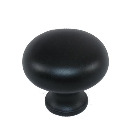black cabinet knobs shop style selections matte black cabinet knob at