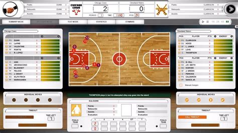 international basketball manager  gameplay pc hd