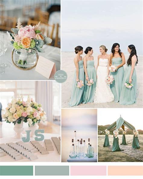stunning beach wedding color ideas   summer