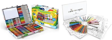 40% Off Crayola Products = Inspiration Art Case