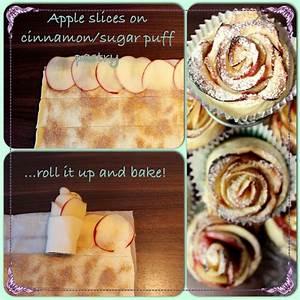 Apfelrosen / Apple Roses Rezepte by Anybell Pinterest Apfelrosen, Rose und Apfelrosen rezept