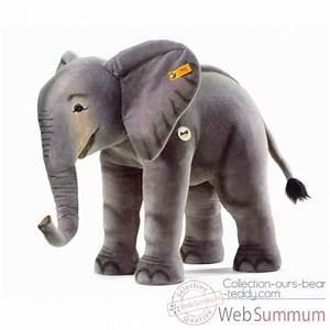 Peluche Elephant Geant : achat de steiff sur collection ours bear teddy ~ Teatrodelosmanantiales.com Idées de Décoration