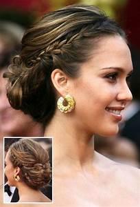 Prom hairstyles side bun