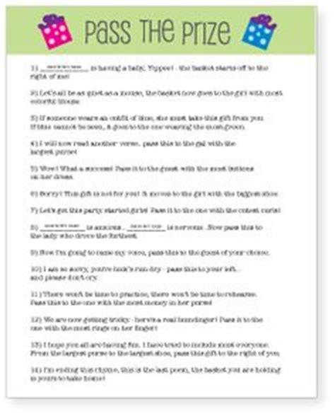 Pass The Present Poemgame  Heidi's Babyshower