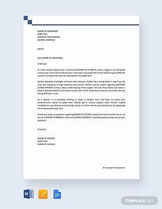 High, School, Recommendation, Letter, From, Teacher, Template