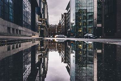 Street Reflection Building Urban Cityscape Desktop Backgrounds