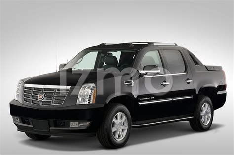 front view  black  cadillac escalade ext sut