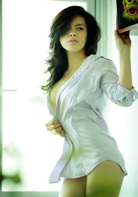 trieu tu trinh viet nam actress girls idols wallpapers