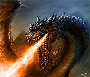 Fire Breathing Dragon by TheRisingSoul on DeviantArt