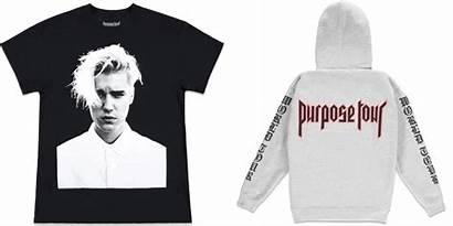 Bieber Justin Merch Purpose Tour Merchandise Forever