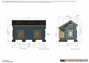 home garden plans dh303 insulated dog house plans dog With insulated dog house plans pdf