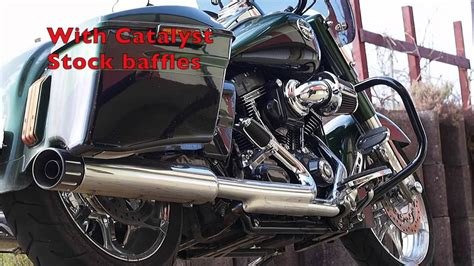 Harley Davidson Bob Modification by 2014 Harley Davidson Cvo Road King Exhaust Modification