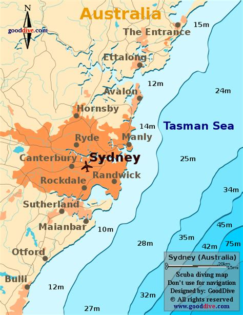 sydney map goodivecom