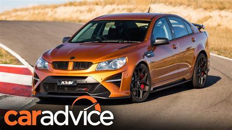 2017 HSV GTSR W1 — Australia's 636hp muscle car review ...