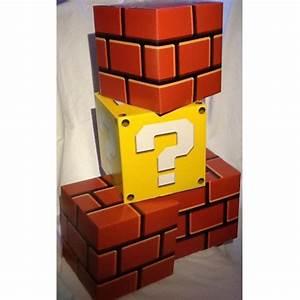 Super Mario Deko : nintendo dekow rfel set super mario bros deko w rfel 4 teilig neu ebay ~ Frokenaadalensverden.com Haus und Dekorationen
