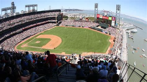 att park seating chart pictures directions  history san francisco giants espn