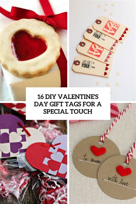 diy valentines gift 16 diy valentine s day gift tags for a special touch shelterness