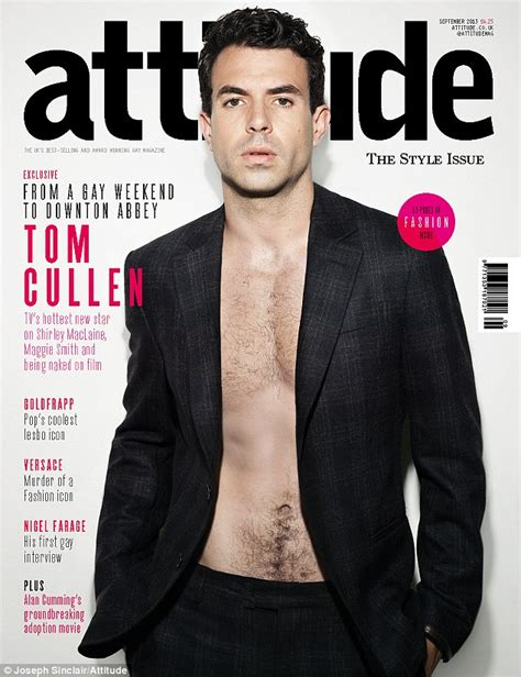 tom cullen actor the stand downton abbey newcomer tom cullen reveals co star shirley