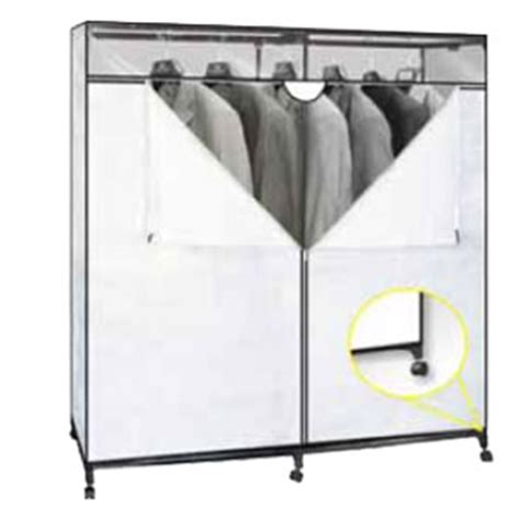 60 inch portable closet with wheels 676 shfs