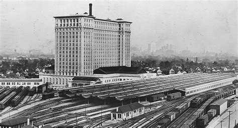 report ford paid  million  michigan central station