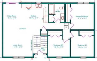 split entry floor plans beautiful mini blessings split level floor plan