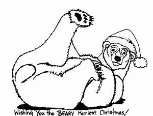 coloring page polar bear - polar bear coloring pages for kids 1 coloring pages