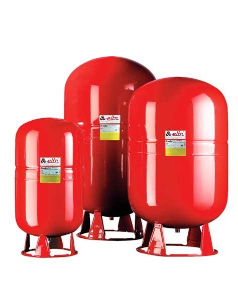 vaso di espansione a membrana vaso espansione riscaldamento lt 100 a membrana fissa elbi