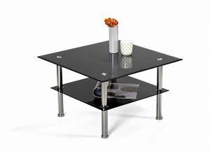 Table Basse Noir : table basse bilbo noir paillete ~ Teatrodelosmanantiales.com Idées de Décoration