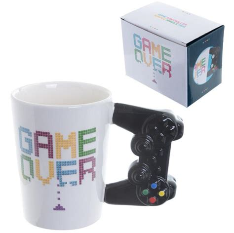 1pc Game Over Coffee Mug 3d Game Controller Handle Office