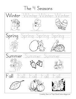 seasons worksheets for pre k pre k and kindergarten seasons review seasons
