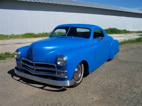 1950 Plymouth Business Coupe Chopped Hot Rod Custom