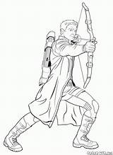 Archer Coloring Pages Colorkid Accurate sketch template