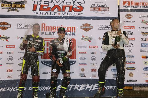 motocross races in texas indian motorcycle racing takes first third place at