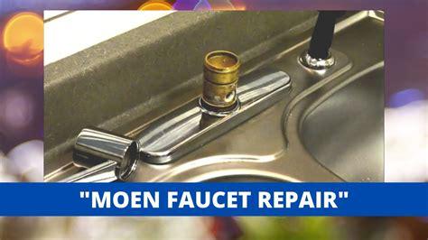 moen style kitchen faucet repair youtube
