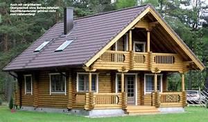 Kleines Gerätehaus Holz : holzh user blockh tte als wochenendhaus oder kleines ~ Michelbontemps.com Haus und Dekorationen