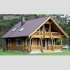 Holzhäuser, Blockhütte Als Wochenendhaus Oder Kleines