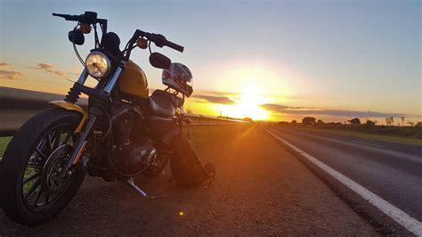 Yellow Harley-davidson Hd Wallpaper