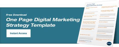 digital marketing plan template free digital marketing plan template emmix