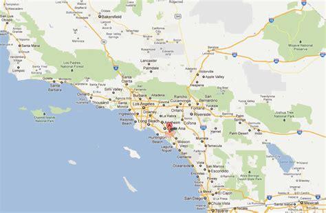 irvine california map