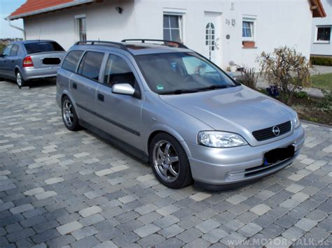 Opel Astra G by 1998 Opel Astra G Caravan Pictures Information And
