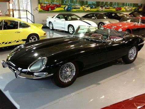 Jaguar Xke Restoration by Sell Used 1966 Jaguar E Type Xke Roadster Series 1